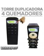 Torres quemadoras de discos CD y DVD / duplicadoras / DISCOS
